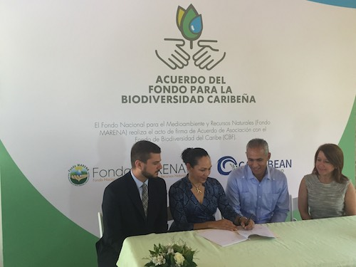 GROUNDBREAKING PARTNERSHIP TO SUPPORT ENVIRONMENTAL PROTECTION IN THE DOMINICAN REPUBLIC